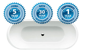 30 Years Bath tub Guarantee