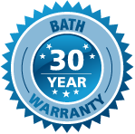Sydney Spa bath 30 year warranty